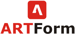 Logo ARTForm duże